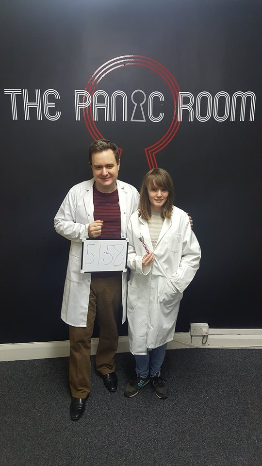 The Panic Room Gravesend The Lab Escape Review